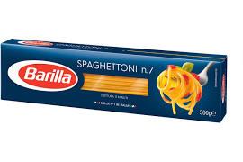 Barilla spaghettoni no 7 500g
